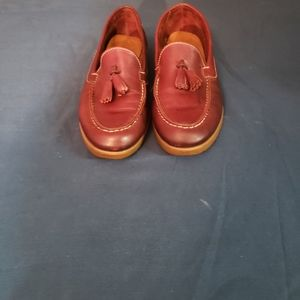 Bass Burgundy Women's Loafers Size 7